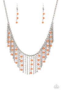 Harlem Hideaway Necklace Orange