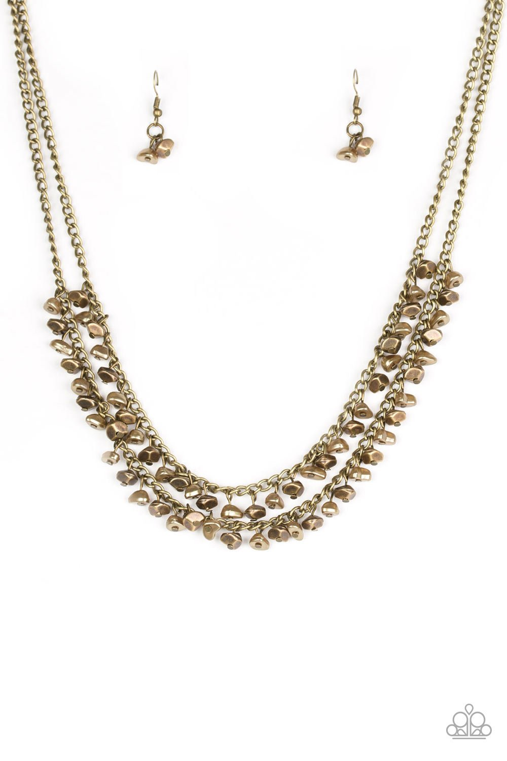 Majestic Marinas Brass Necklace