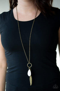 Canyon Quest Necklace Brass