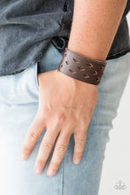 Load image into Gallery viewer, Bucking Bronco Brown Urban Bracelet