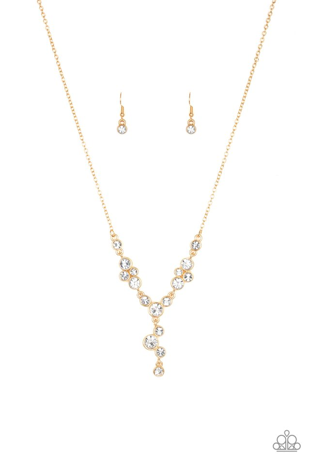 Five Star Starlet Gold Necklace
