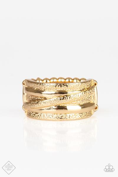 Rise and Shine Gold Ring