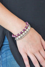 Load image into Gallery viewer, Girly Girl Glamour Bracelet Purple