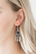 Load image into Gallery viewer, No Place Like Homestead Black Earrings