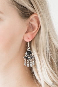 No Place Like Homestead Black Earrings