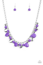 Load image into Gallery viewer, Flirtatiously Florida Purple Necklace