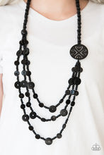 Load image into Gallery viewer, Jungle Jive Black Necklace
