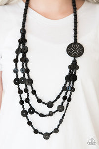 Jungle Jive Black Necklace