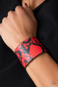 The Rest Is Hiss-tory Red Bracelet