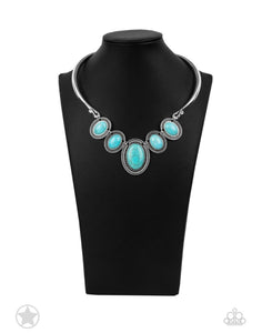 River Ride Blue Necklace