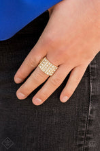 Load image into Gallery viewer, Diamond Drama Gold Ring