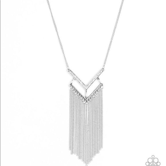 Alpha Glam White Necklace