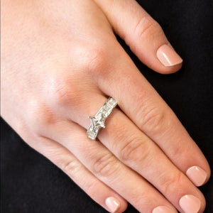 Elegantly Ever After White Ring