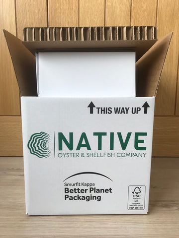 Our Sustainable Box Deliver System, 100% Cardboard