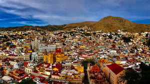The beautiful town of Guanajuato Mexico