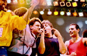 Freddie Mercury / Live Aid  (with Bono, Paul McCartney & George Michael)