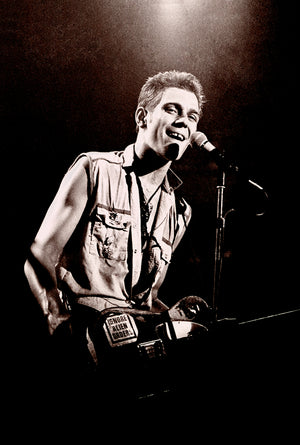 Paul Simonon of The Clash / Brixton