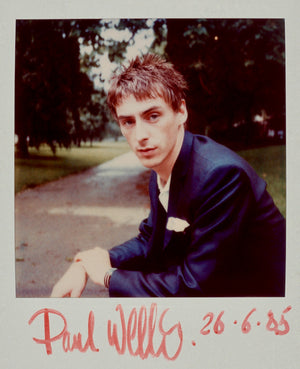 Paul Weller / Polaroid