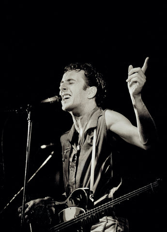 Joe Strummer of The Clash at The Lyceum October 1981