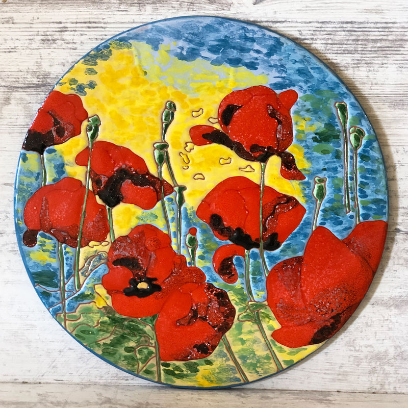 Poppies Cheeseboard