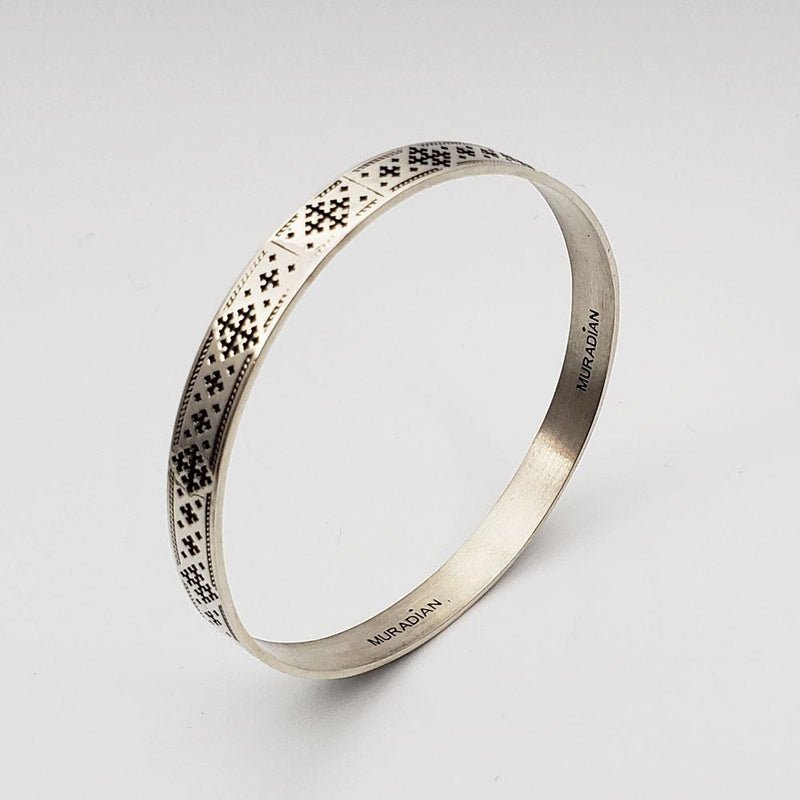 Marash Bangle Bracelet (Narrow)