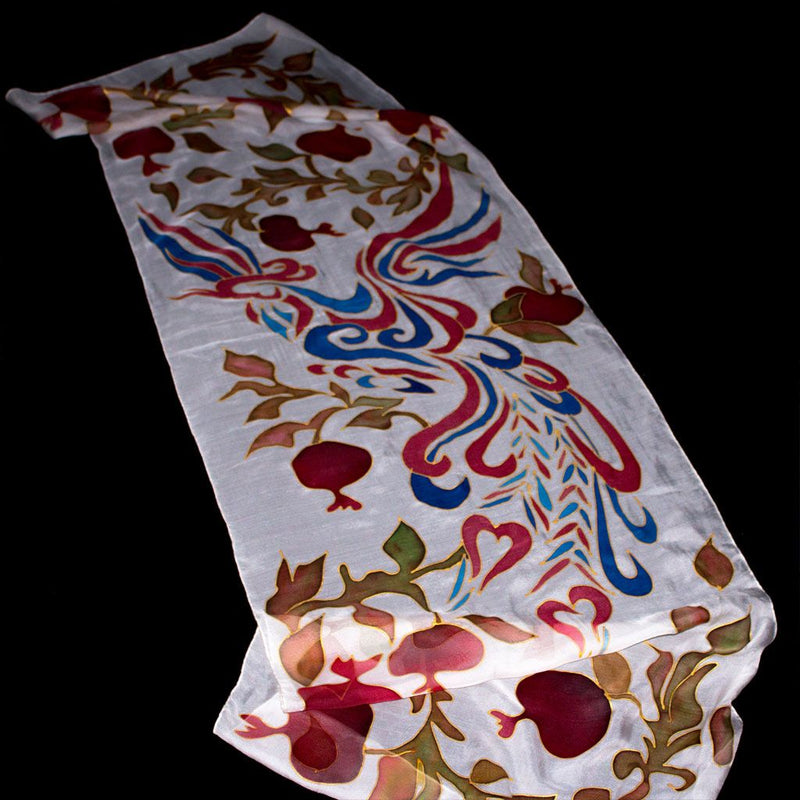 Pomegranates and Ornaments Scarf