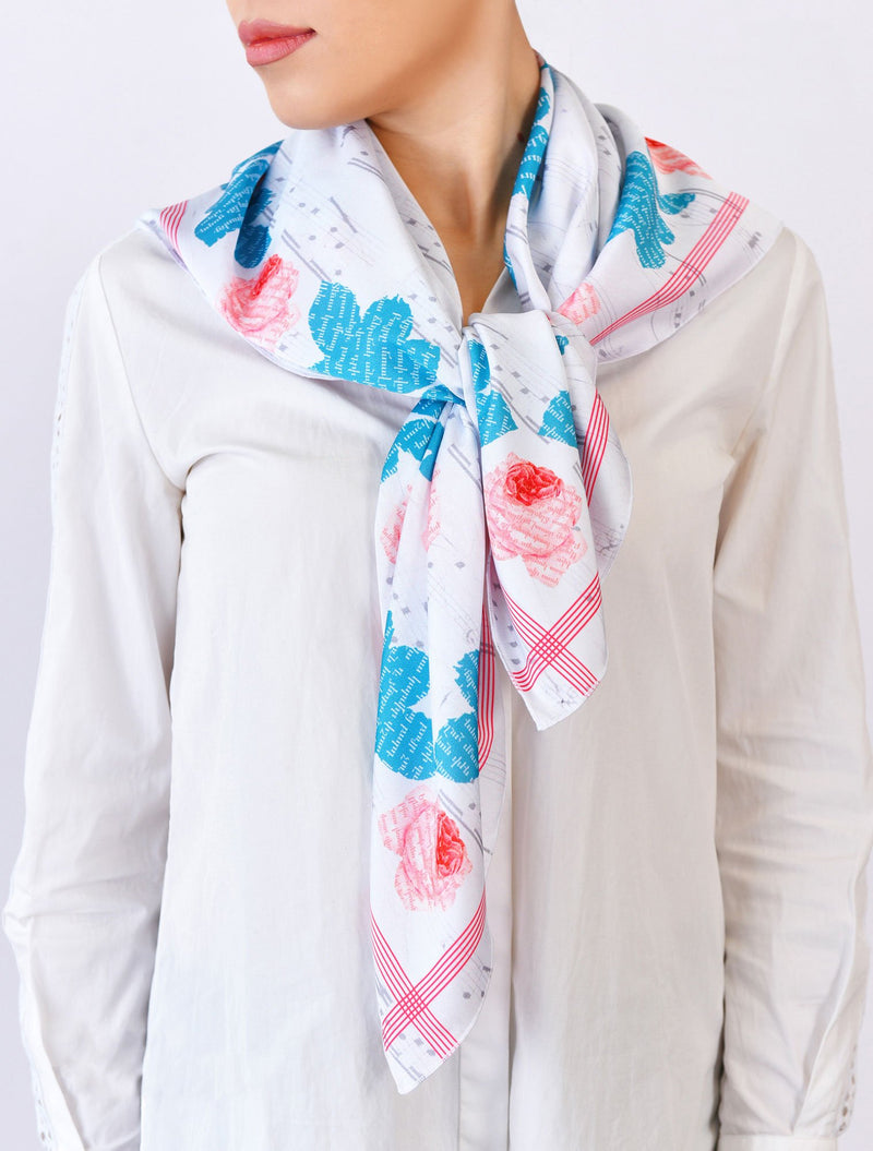 Rose Tree Scarf