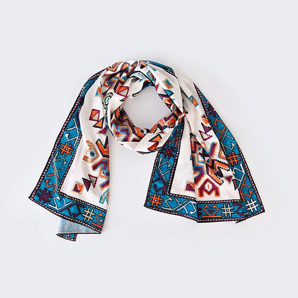 Artsakh Scarf - Apricot Color