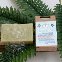 Load image into Gallery viewer, Organic Scalp Soothing Shampoo Bar 3.75 oz.