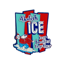 Load image into Gallery viewer, Abolish ICE Enamel Pin