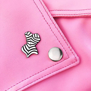 Retro Barbie Swimsuit Enamel Pin