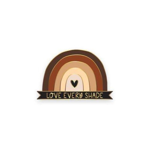 Love Every Shade Lapel Pin