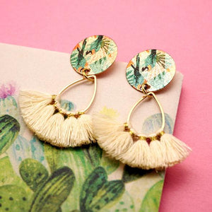 Volar Drop Earrings