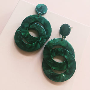 Eso Si Earrings (Green)