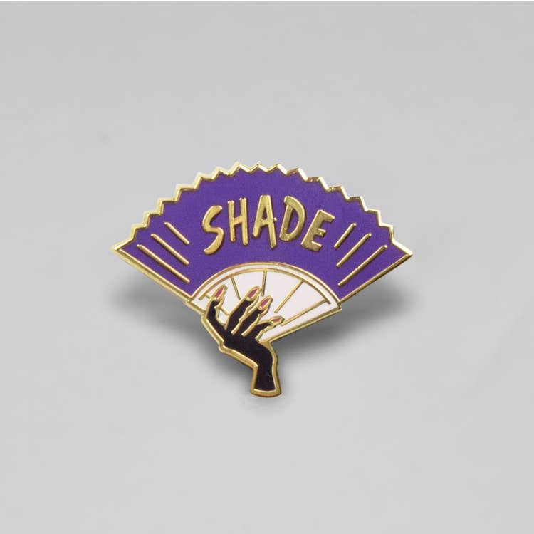 Shade Enamel Pin