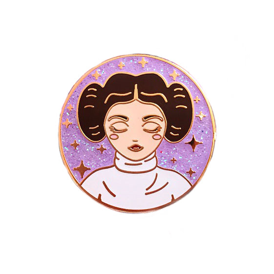 Space Princess Enamel Pin