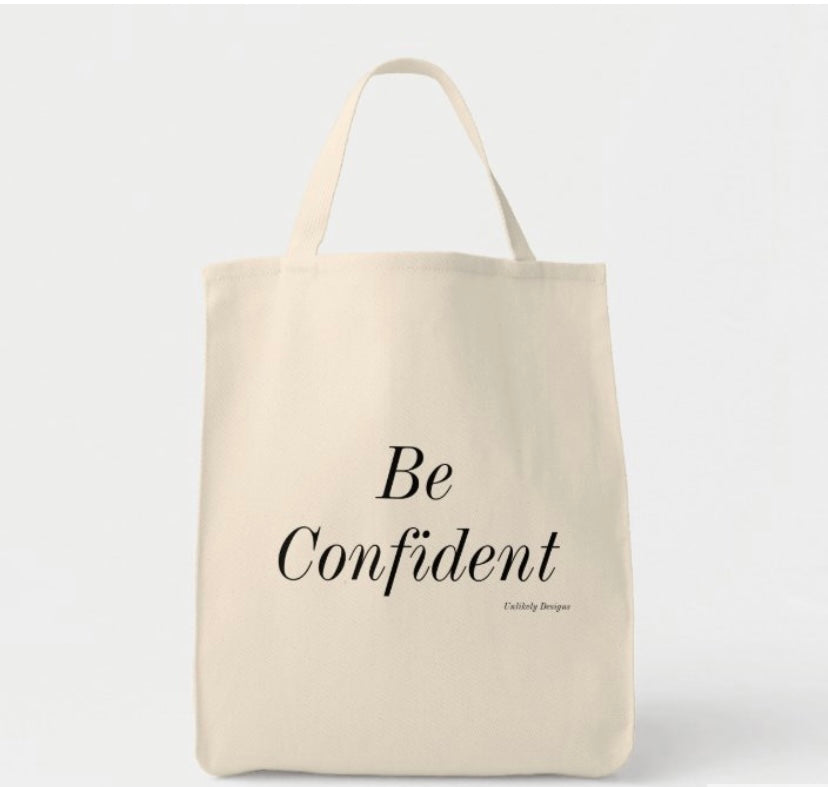 Be Confident Grocery Tote