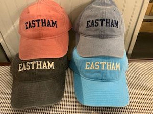 Eastham Baseball Hats (Pigment Dyed)