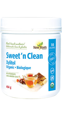 New Roots Organic Sugar Subsitute - Sweet 'n Clean Xylitol 454g