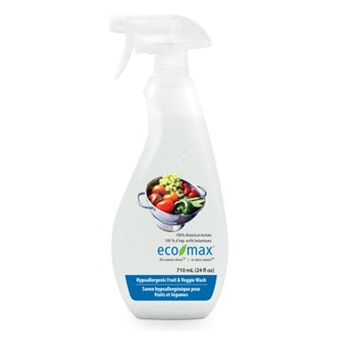 Eco-Max Hypoallergenic Fruit & Veggie Wash Spray 710ml