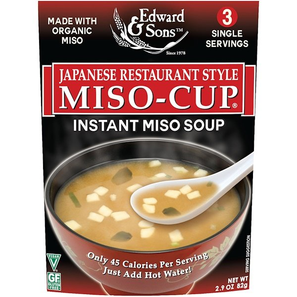 Edward & Sons-Japanese Restaurant Style Miso Soup 82g