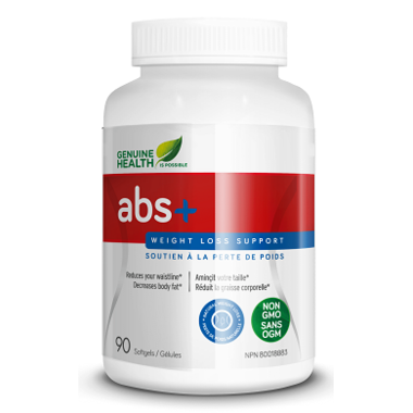 Genuine Health Abs+ Weight Loss Support 90 Softgels