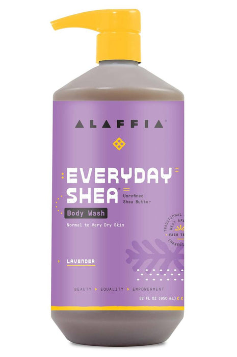 Alaffia - Everyday Shea Body Wash (Normal to Very Dry Skin) Lavender 950ml