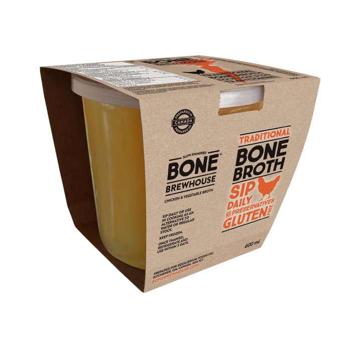 Bone Brewhouse Chicken & Veggie Bone Broth 600ml