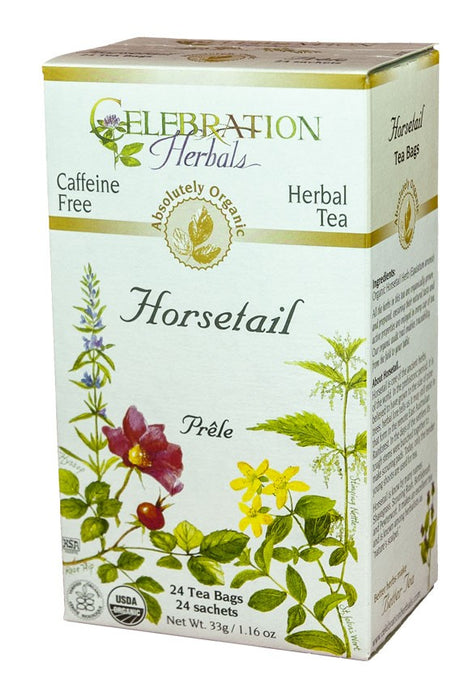 Horsetail Celebration Herbal Teas - Organic 24 Tea Bags