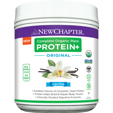 New Chapter Complete Organic Plant Protein+ (Vanilla) 423g