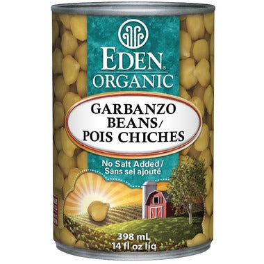 Eden Foods-Garbanzo Beans 398ml