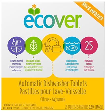 Ecover Automatic Dishwasher Tablets 500g
