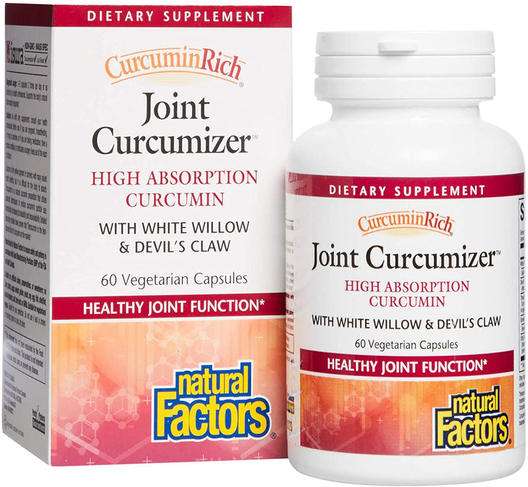 Natural Factors CurcuminRich Joint Optimizer 60 Vegecaps