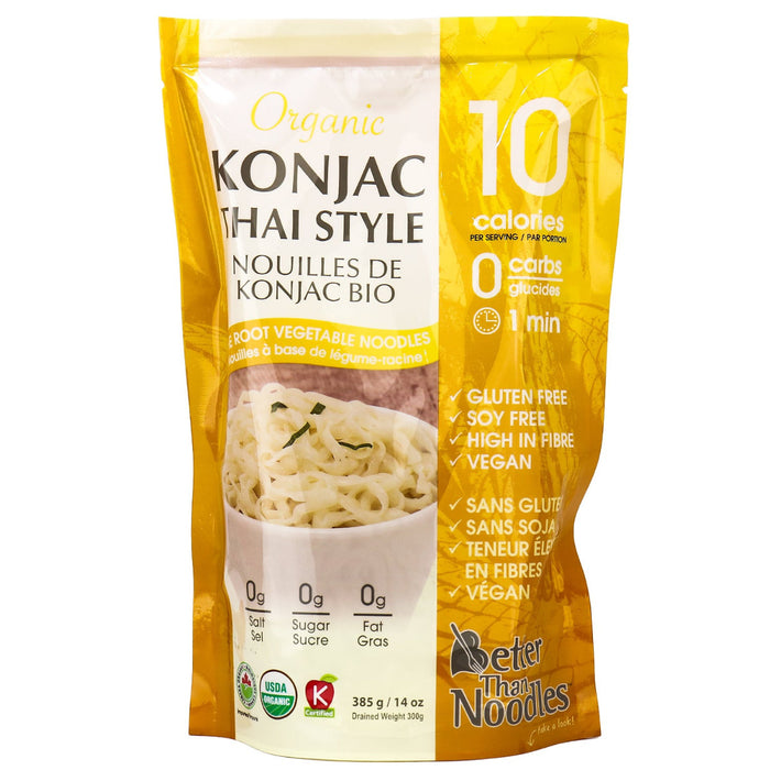 The Root Vegetable Organic Noodles - Konjac Thai Style 385g